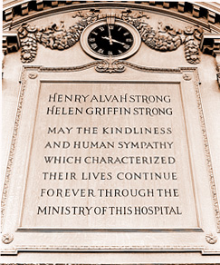 Dedication to Henry Alvah and Helen Griffin Strong