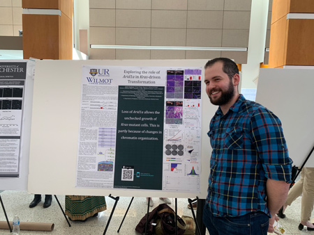 Scott at Poster Session