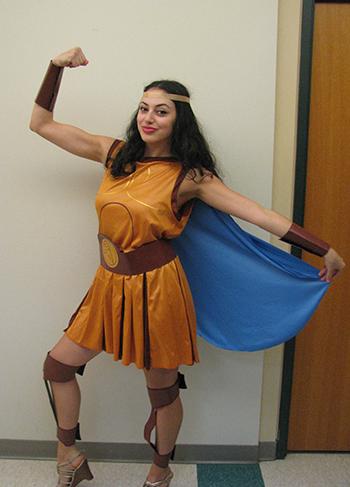 Sara Lolo, as Hercules