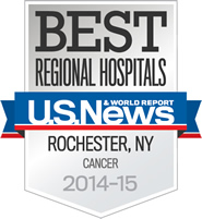 Wilmot Cancer Institute: Best Regional Hospital Award