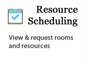 Resource Schedule