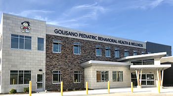 Golisano Pediatric Behavioral Health & Wellness building