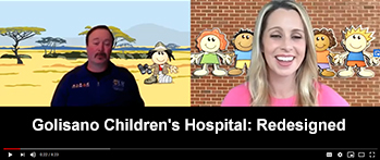 Video, Pat Chat, Children's Hospital Redesigned