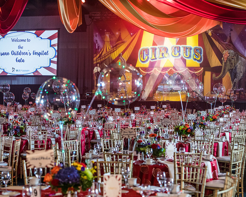 2018 Children's Hospital Gala - Decor