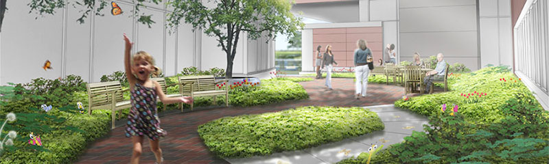 New gardens bring healing - Strong Kids News - Giving to Golisano ...