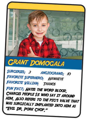 Grant's Trading Card