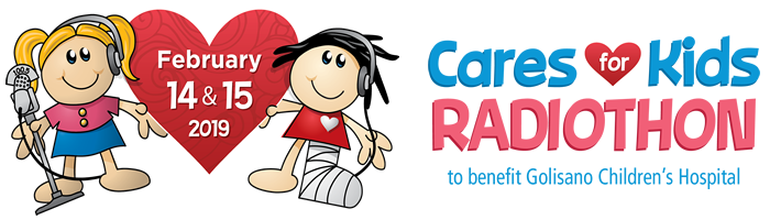 Cares for Kids Radiothon February 14 & 15, 2019