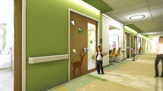 Image Depicting Hospital Layout 6