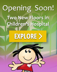 Explore Two More Floors of Children's Hospital
