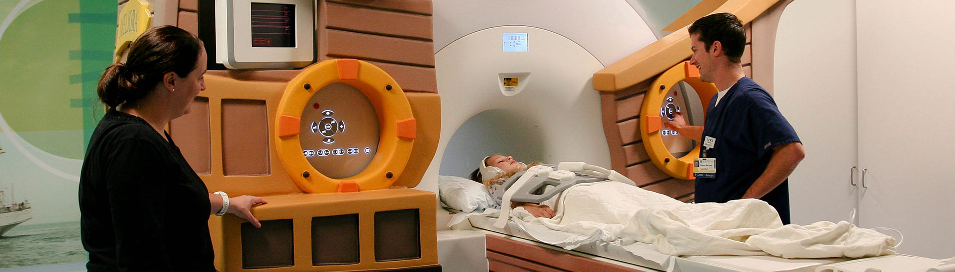 Golisano Children's Hospital- PET MRI Scanner