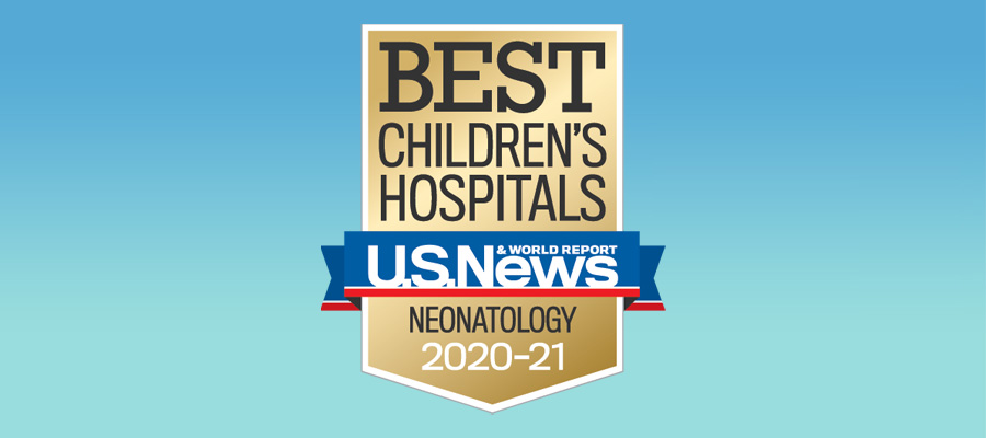 Golisano Children's Hospital - Rochester - a Best Children's Hospital for Neonatology – U.S. News & World Report 2020-2021