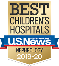 a Best Children's Hospital for Nephrology – U.S. News