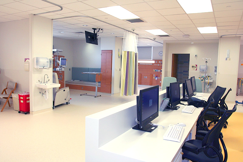 Pediatric Cardiac ICU — Patient care bay