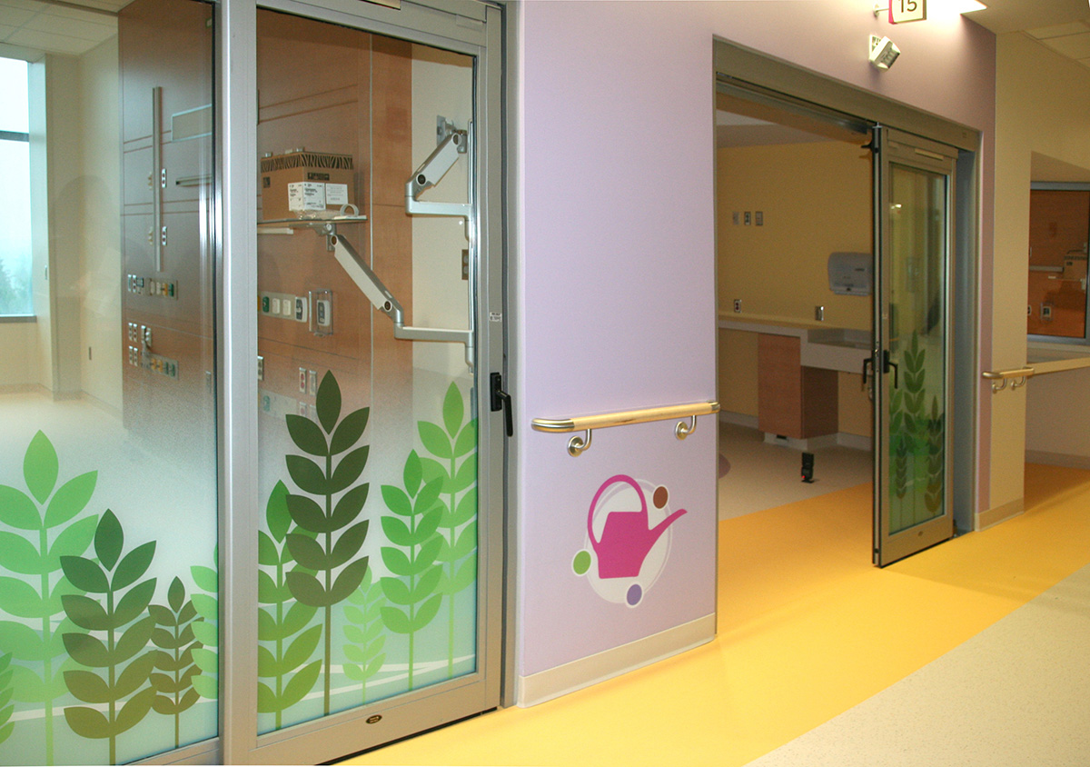 Pediatric Intensive Care Unit — Hall detail