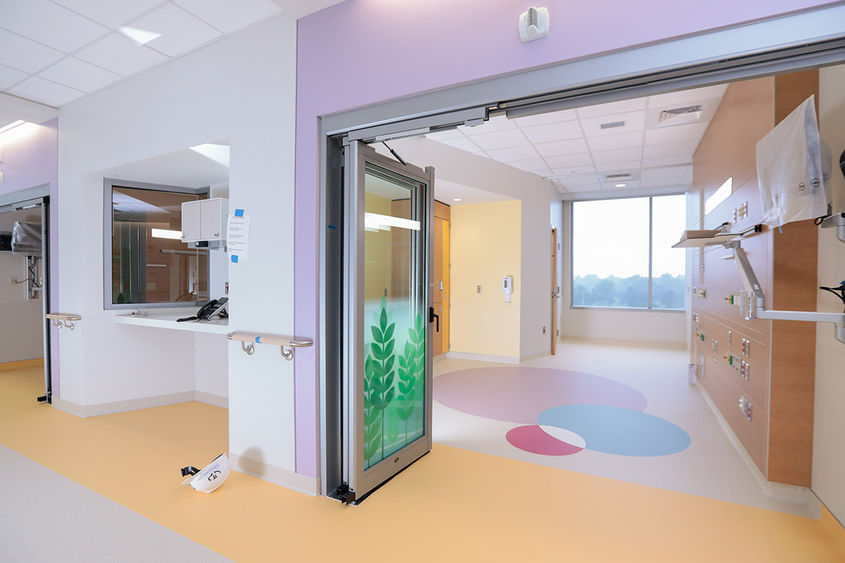 PICU — Patient Room — View from the hall