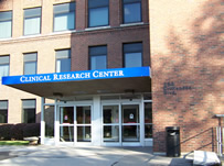 Clinical Research Center entrance