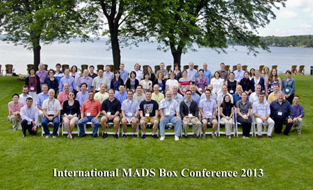 Group photo, International MADS Box Conference 2013