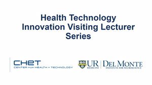 Thumbnail Heath Technology Innovation Visiting Lecture Series 30 July 2018