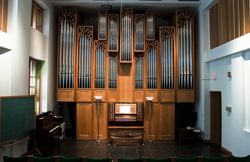 Schmitt Organ Recital Hall at Eastman School of Music