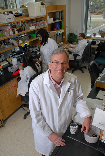 Dr. Rob Quivey in lab