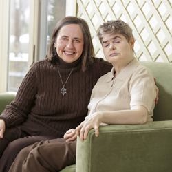 Maureen and Margaret Obrien