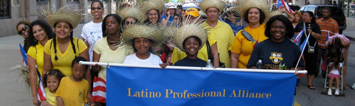 Latino Professional Alliance Marching