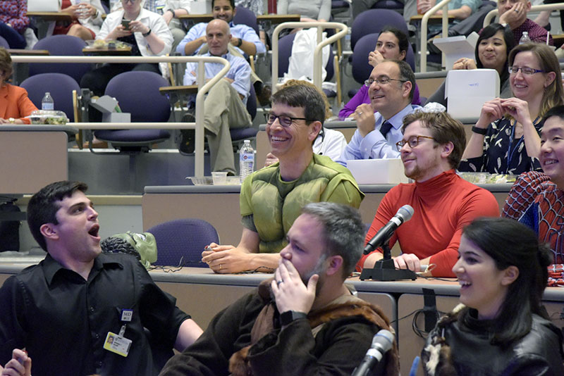 Final Grand Rounds: Sharing a joke with Dr. Novak