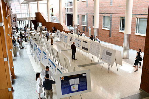 Long view of poster session