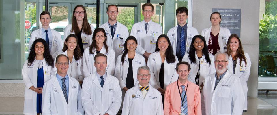Faculty/Residents Group Photo
