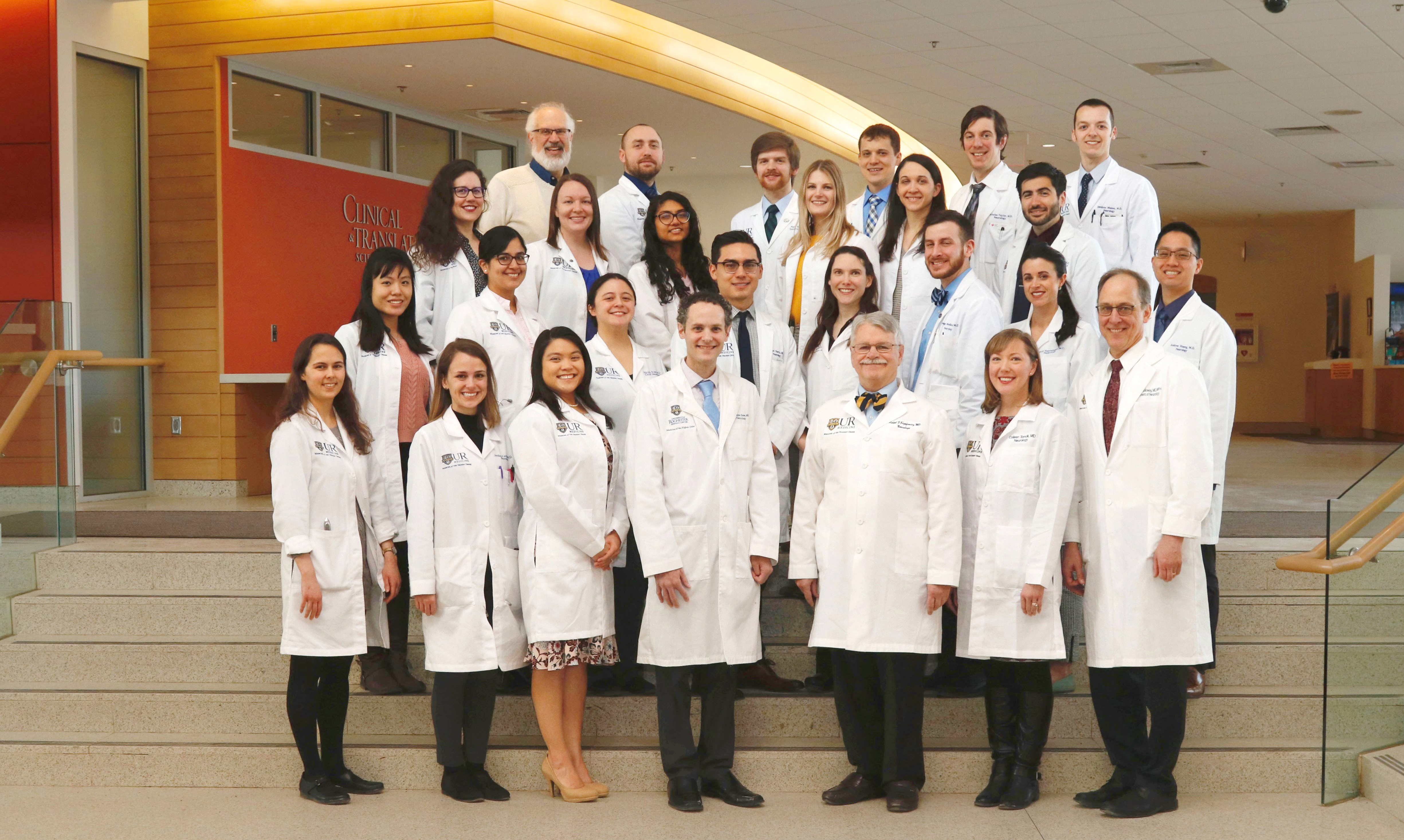 Neurology Faculty and Residents