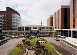 Photo of Strong Memorial Hospital Entrance, Elmwood Avenue
