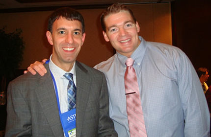 Program Director, M. Milano, MD, PhD w/ graduate Carl Peterson, MD