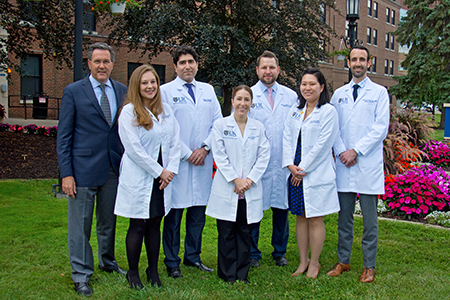 Chief Residents with Dr. Linehan