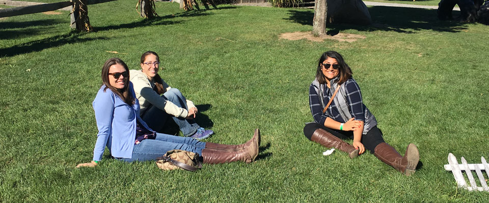 Residents Relaxing at long Acre Farm