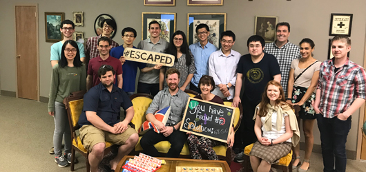 GDSC Completes the Escape Room in Record Time!