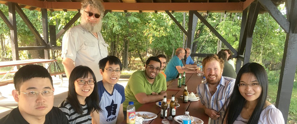 Faculty and Students at Picnic