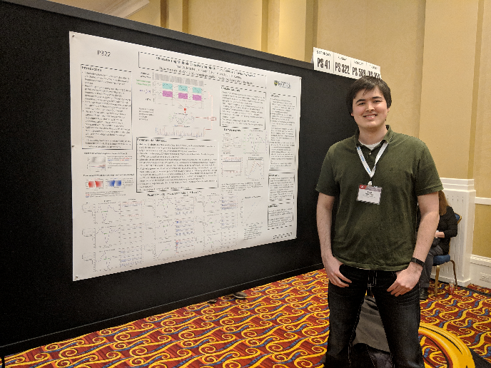 Paul Mitchell, PhD Candidate - BME, at his poster