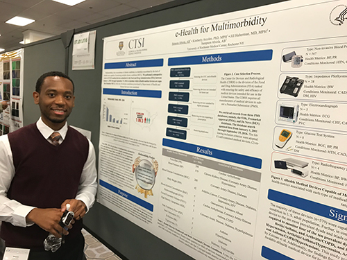Simeon Abiola presents poster at the Research Centers in Minority Institutions Translational Science 2017 Conference