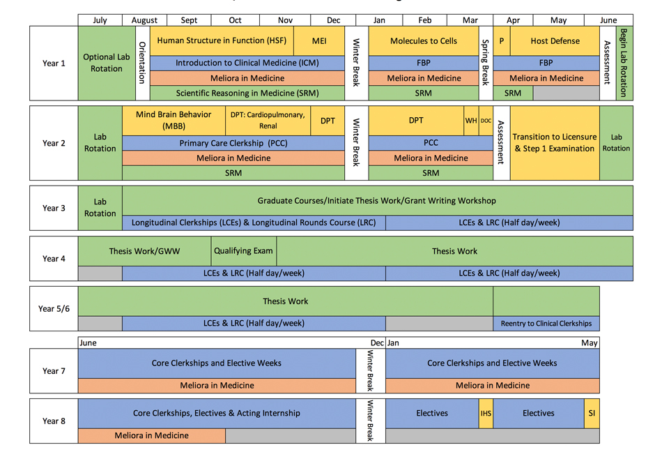 MSTP Curriculum Map Revised 2019