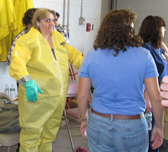 Decon Training