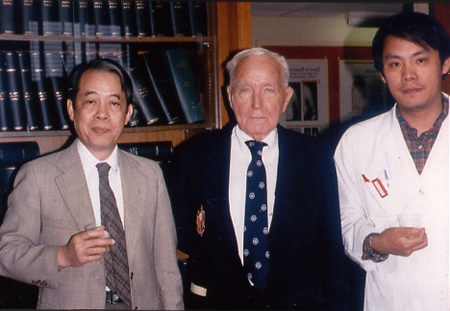 1988 Drs. Liao & Huggins - Ben May Lab