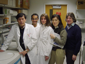 Dr. Chang and members in the lab