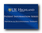 Physical and Occupational Therapy Video