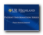 Pain Management Video