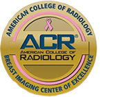 American College of Radiology Breast Imaging Center of Excellence Badge