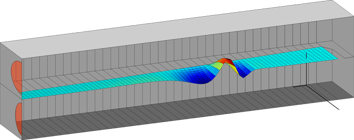 computer simulation of cochlear fluid mechanics