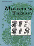 Featured on the cover of Molecular Therapy, August 2005