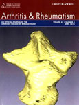 Featured on the cover of Arthritis and Rheumatism, April 2010