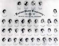 School for Dental Hygienists Class of 1957