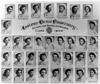 School for Dental Hygienists Class of 1958
